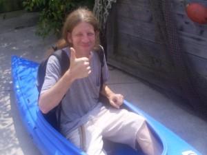 Mike canoe